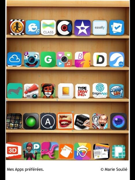 Mes apps préférées by Marie Soulie   Sens dessus dessous   Scoop.it