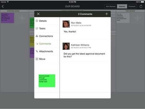 6 Top iPad Collaboration Apps To Bring Remote Teams Closer Together « iPad.AppStorm | iPads in High School | Scoop.it