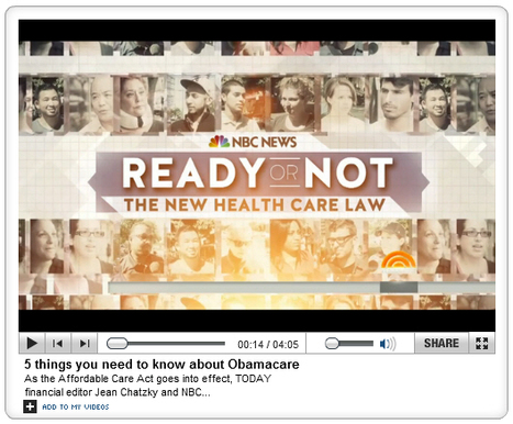 """5 things you need to know about Obamacare"" 