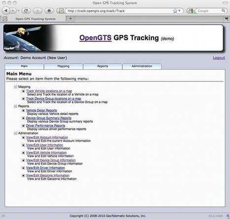 GPS Tracking: Open-Source GPS Tracking System - OpenGTS | opexxx | Scoop.it