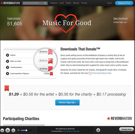 ReverbNation Jumps Into Music Download Business for Good... | Music Tech News | Scoop.it