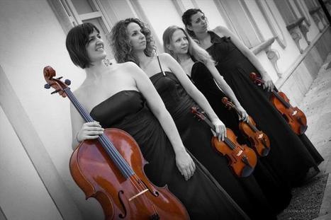 Hai bisogno di un intrattenimento musicale di classe? Quartetto d'archi al femminile per il tuo evento. | Italian Entertainment And More | Scoop.it