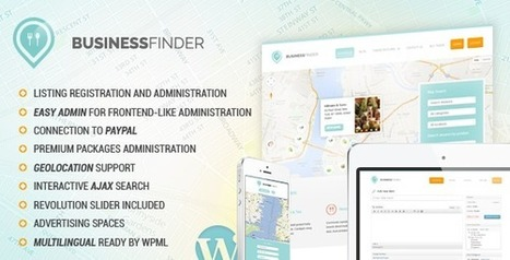 Business Finder: Directory Listing WordPress Theme (Miscellaneous) Download | Government in New York City, NY New York Business Listings | Scoop.it