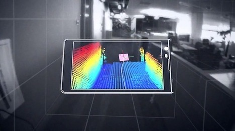 Google's Project Tango smartphone can map a room from your pocket | Mobile | Geek.com | izim-news | Scoop.it