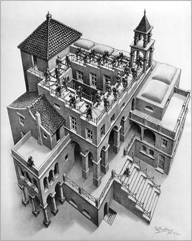 For Fun:  M.C. Escher Drawings brought to Life via 3-D Printer by Israeli Professor | SCUP Links | Scoop.it