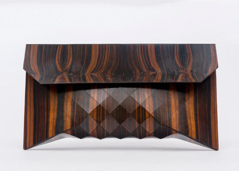 Wooden Bags by Tesler + Mendelovitch - Design Milk   corinne chatelain   Scoop.it