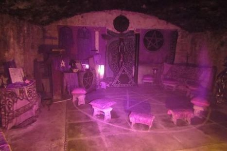 Tourist took secret photo of 'witch temple' and captured something spooky | Strange days indeed... | Scoop.it