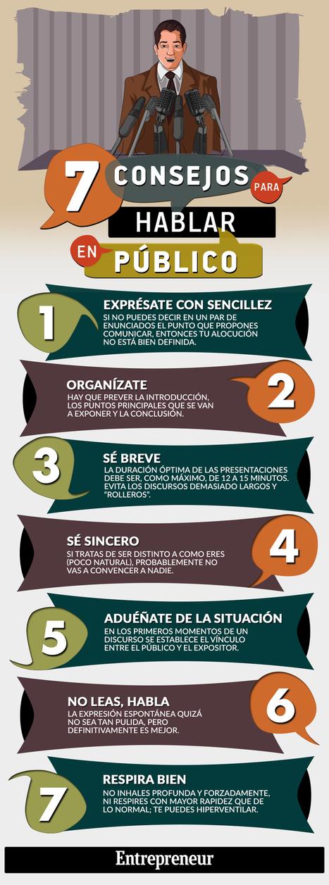 7 consejos para Hablar en Público | Nati Pérez Sanz | Scoop.it