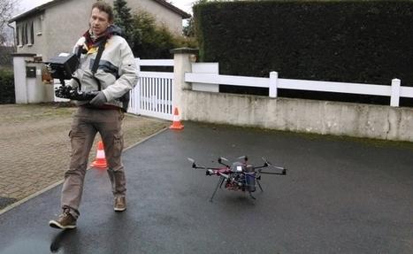 France Bleu | Un drone pour filmer les déperditions d'énergie dans la Loire | TechniVue's Updates | Scoop.it