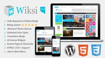 Wiksi – Responsive Magazine WordPress Theme Download   tuhafadam   Scoop.it