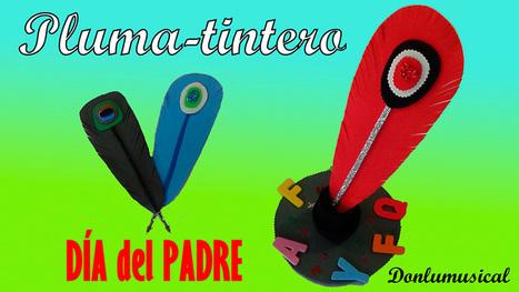 Cinco manualidades con plumas de papel - Papelisimo | Educação Tecnológica | Scoop.it
