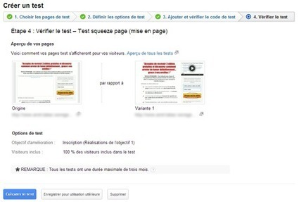 Split Test d'une squeeze page avec Google Analytics | Community Management, statistiques web et mobiles | Scoop.it