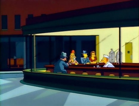 The 'Simpsons' Guide to Art History | Mode et fashion | Scoop.it