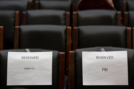 With Finality, F.B.I. Opts Not to Share iPhone-Unlocking Method   Cybersecurity at Thomas Nelson   Scoop.it