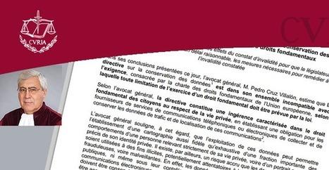 L'avocat général de la CJUE condamne la conservation des données de connexion | Geeks | Scoop.it
