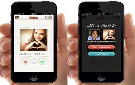 Tinder - Comme réinenter la rencontre amoureuse via une appli smartphone. | Le smartphone a-t-il changé nos comportements? | Scoop.it