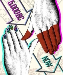 The Illustrated History Of Nail Art [Slideshow]   Trending Beauty   Scoop.it