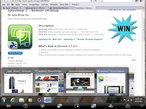 Here's Your Chance To Get A Free Copy Of Splashtop 2 Remote Desktop For iPad - AppAdvice | Multimedia on the iPad | Scoop.it