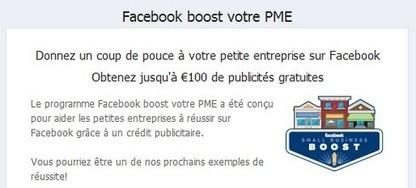 Publicité Facebook gratuite : 100 € de code promo offert pendant 1 mois   SiSoCoiff   Scoop.it
