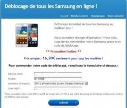 Désimlockage téléphone mobile – Test d'une solution de désimlockage en ligne pour les téléphones SAMSUNG | BriZaWen | désimlockage de téléphones portables | Scoop.it