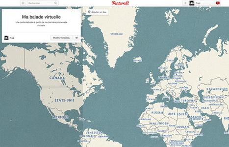 Comment créer une carte avec #Pinterest ...!!! | Digital Martketing 101 | Scoop.it