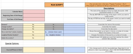 Edit All Your Calendar Events at Once with This Google Script   Technology Integration and Education   Scoop.it