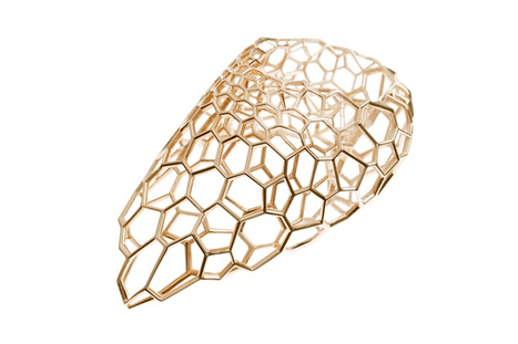 skein ring by zaha hadid for caspita resembles cell structures - Designboom | Design | Scoop.it