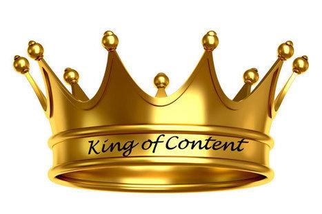 Perché il contenuto è ancora il RE del web | Il web writing in Italia by Contenuti WEB | Scoop.it