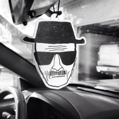 Drug Dealer-Inspired Air Fresheners - The Heisenberg Air Freshener Smells Like Strawberry, Not Meth (TrendHunter.com) | Breaking Bad | Scoop.it