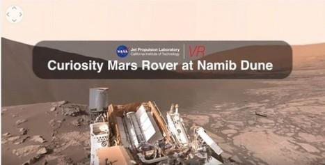 NASA publica vídeo en 360 grados para sentirnos en Marte | Recull diari | Scoop.it