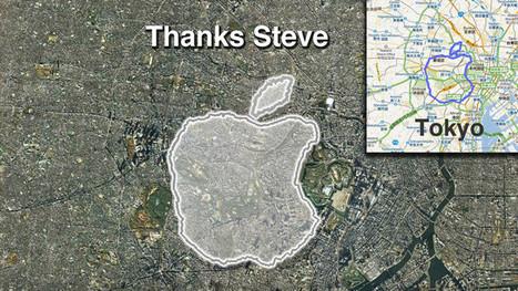 Pour Steve Jobs, l'hommage d'un fan pas comme les autres   Epic pics   Scoop.it
