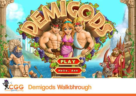 Demigods Walkthrough: From CasualGameGuides.com | Casual Game Walkthroughs | Scoop.it