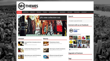 30 Best Free Responsive Magazine WordPress Themes 2016 - Colorlib | Ultimate Tech-News | Scoop.it