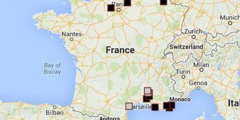 La carte de France des villes FN | La montée du FN - France | Scoop.it