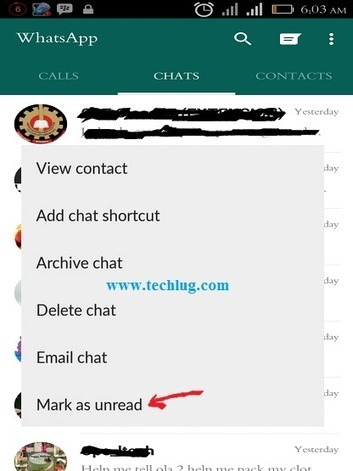 Finally!!! How To Mark Message As Unread On Whatsapp | Dawatech Blog | Scoop.it