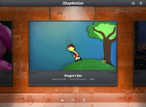 iStop Motion: Creating Animation Effortlessly On iPad | Apptudes | mlearn | Scoop.it