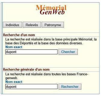 Memorial GenWeb, une nouveauté | CGMA Généalogie | Scoop.it