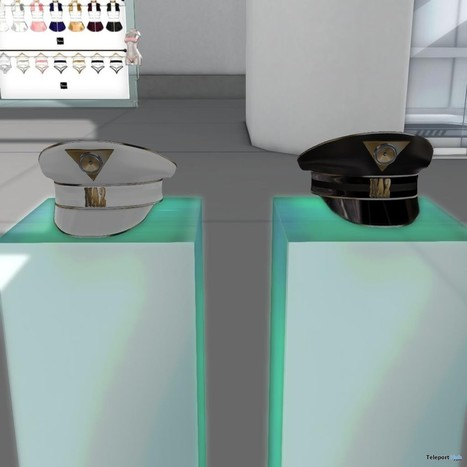 A/D/E General Cap Black & White New Store Location Group Gift by R2 Fashion | Teleport Hub - Second Life Freebies | Second Life Freebies | Scoop.it