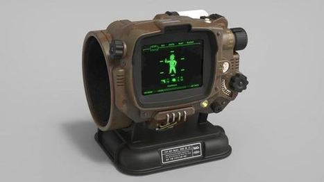 Functional Pip-boy 3000 Mk4 from Fallout 4 | Raspberry Pi | Scoop.it