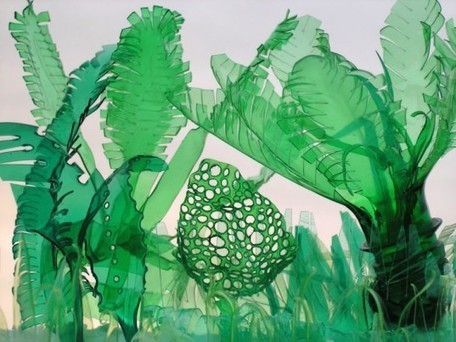 Artist Veronika Richterová turns plastic bottles into beautiful plant and animal sculptures   Eco-conception   Scoop.it