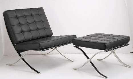 Barcelona Designs: Barcelona Chair, Bench, Day Bed and Tables | Stylish Barcelona Chair | Scoop.it