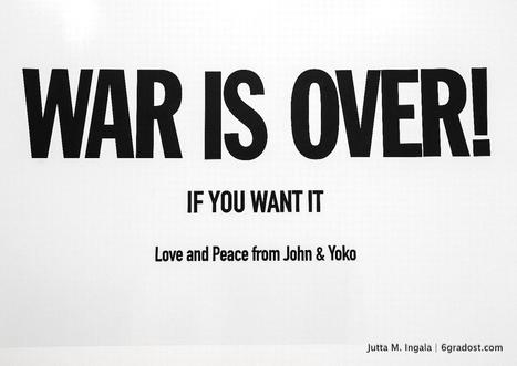 War is over. If you want it. [Lyon] | Le Mac LYON dans la presse | Scoop.it