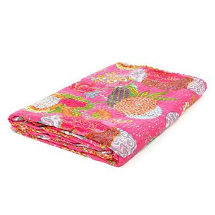 Cotton Bedspread Tapestry with Tropical Fruits Print | eyesofindia | Scoop.it