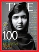 TIME 100 Covers : Malala Yousafzai | The Blog's Revue by OlivierSC | Scoop.it