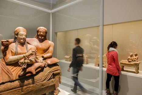 Rendez-vous en terres étrusques au Louvre-Lens - La Voix du Nord | Les Etrusques et la Méditerranée. La cité de Cerveteri | Scoop.it