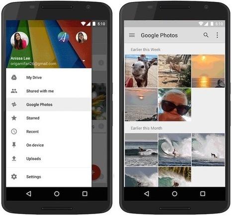 Google poursuit son démantèlement de Google+, au profit de Drive - MacGeneration | Stephane Favereaux | Scoop.it