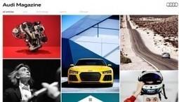 Audi lance une nouvelle version digitale de son magazine clients : Veille du Brand Content | Influence | Scoop.it