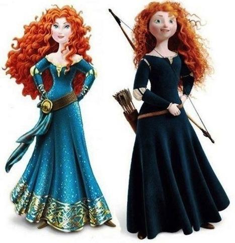 La creadora de 'Brave' critica la sexualización de Mérida en Disney | cinema | Scoop.it