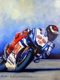 Statesman.com - Interview with F1 and Motogp artist Kevin Paige | Ductalk Ducati News | Scoop.it