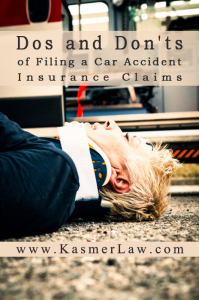 Do's and Don'ts after a Car Accident | Law Office of Andrew S. Kasmer | Law Office of Andrew S. Kasmer | Scoop.it